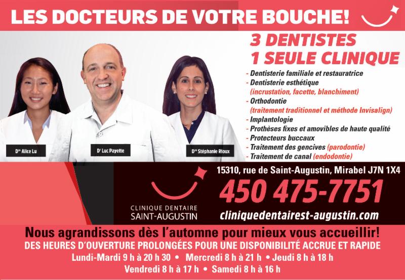 Clinique Dentaire St-Augustin à Saint-Augustin