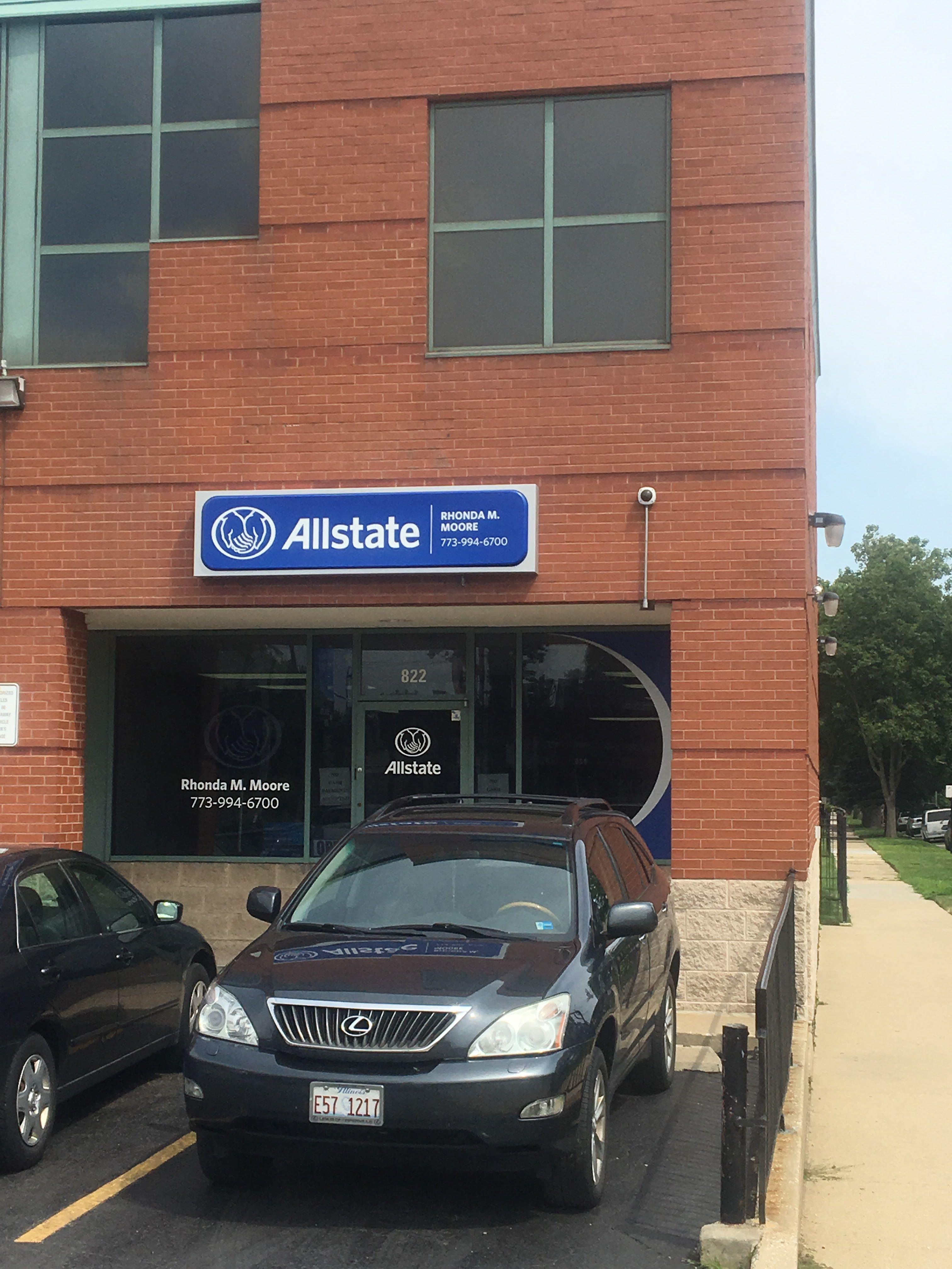 Allstate Insurance Agent Rhonda M Moore At 822 E 87th St