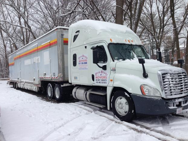 Even when it snows, you can count on us!