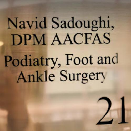 Dr. Navid Sadoughi, DPM AACFAS image 0