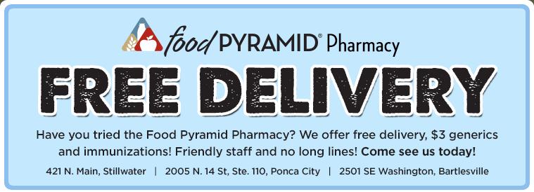 Food Pyramid Ponca City Ok Hours