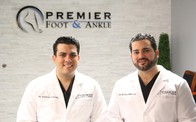 Dr. Anthony LaLama and Dr. Stefano Militello from Premier Foot & Ankle
