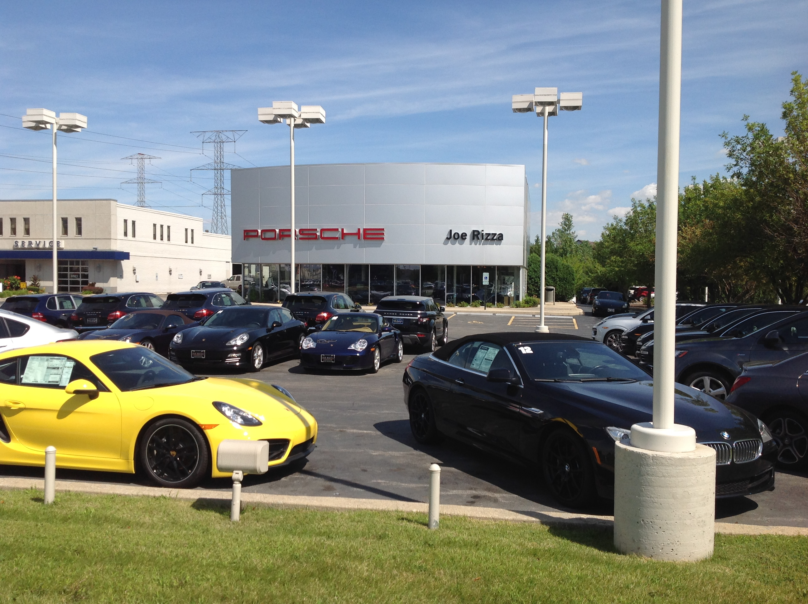 porsche orland park a joe rizza dealership in orland park il whitepages. Black Bedroom Furniture Sets. Home Design Ideas
