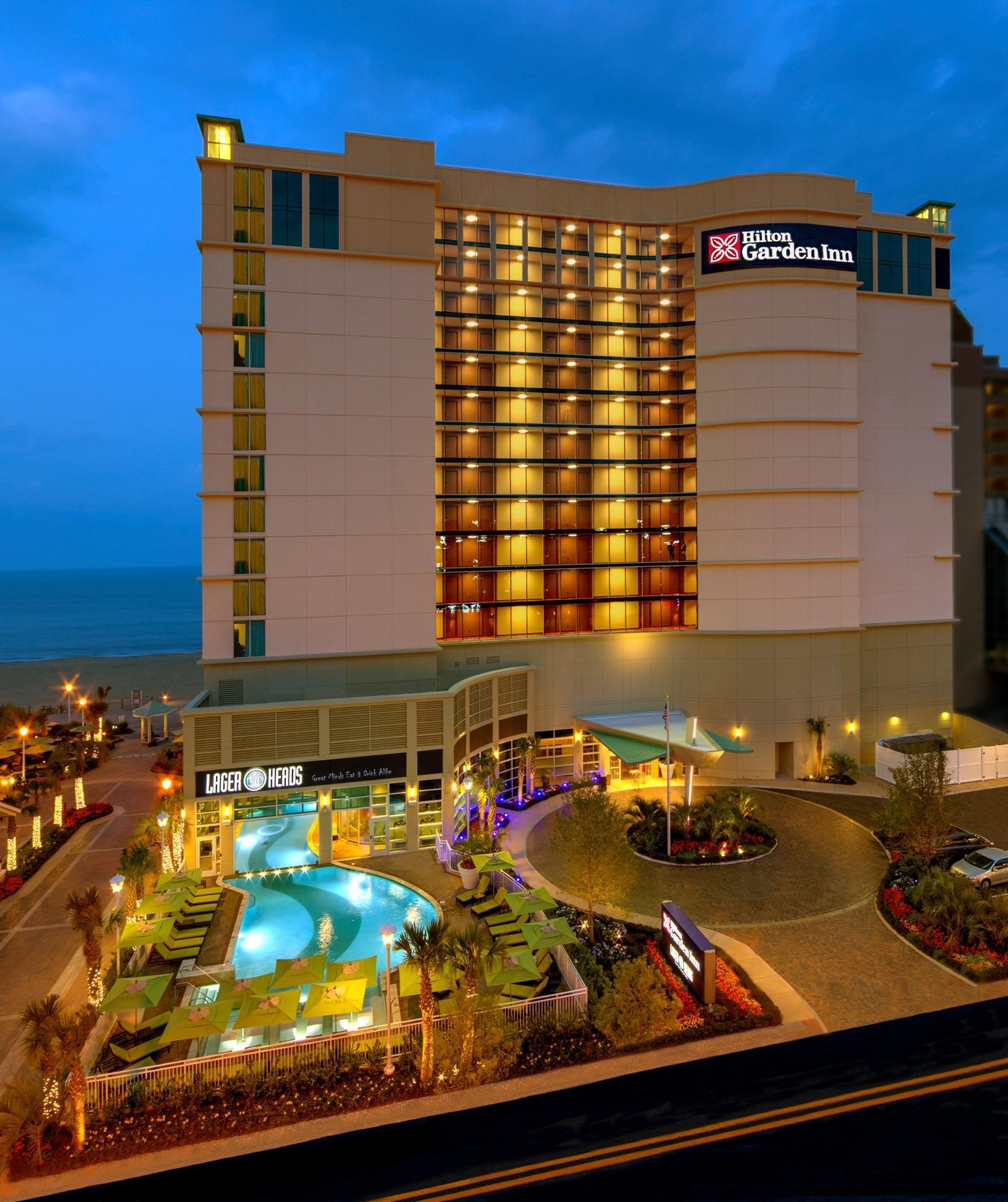 Hilton Garden Inn Virginia Beach Oceanfront 3315 Atlantic Avenue ...