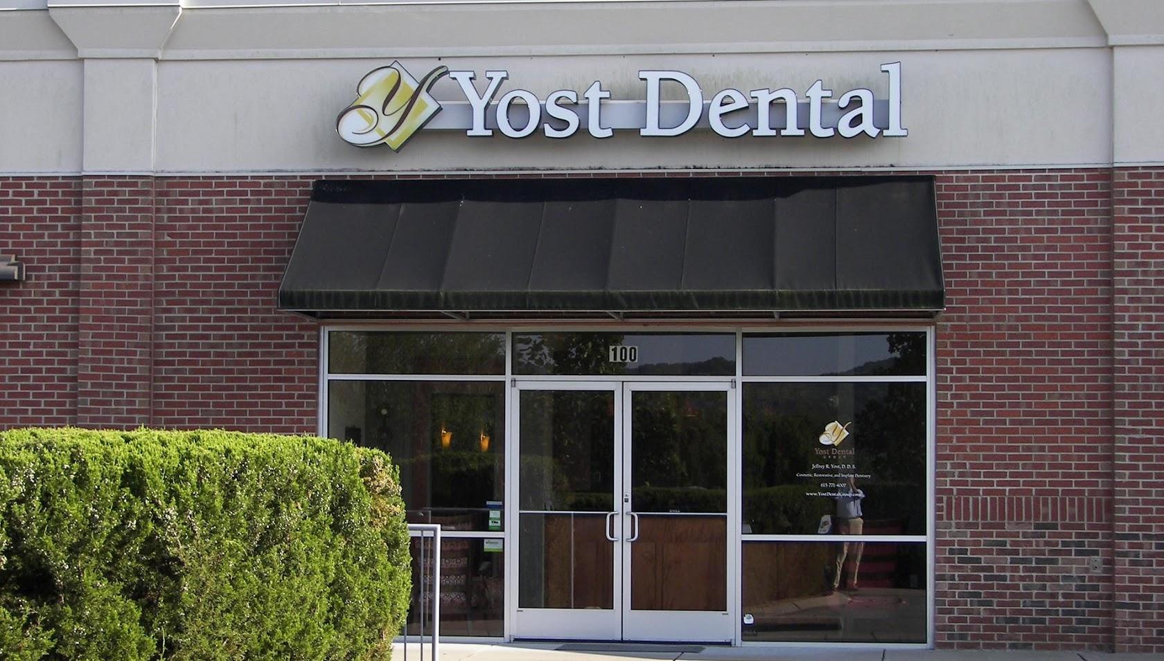 Yost Dental Group 100 Cool Springs Blvd 100 Franklin, TN 37067 (615) 771-4007