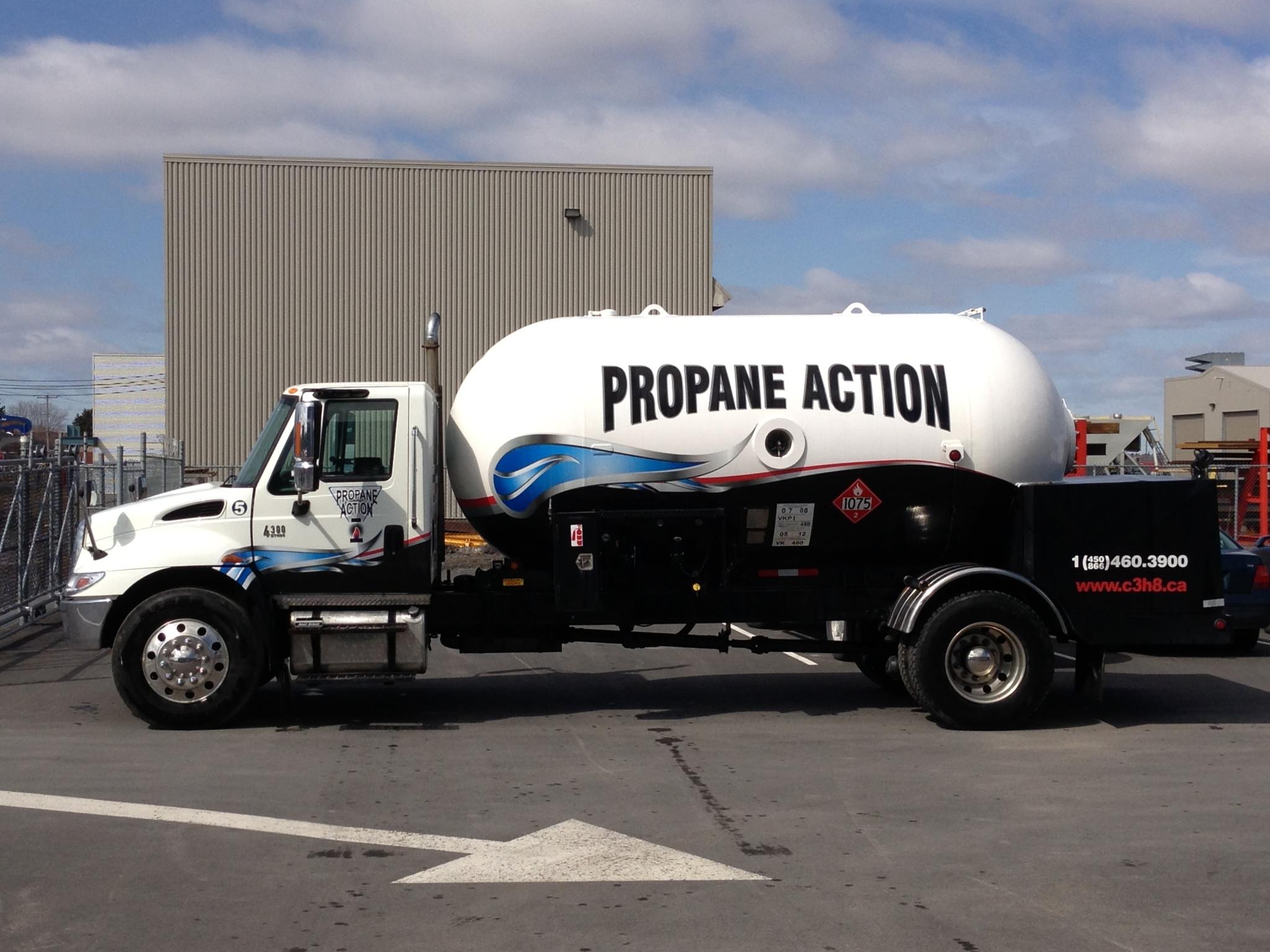 Propane Action Inc à Marieville