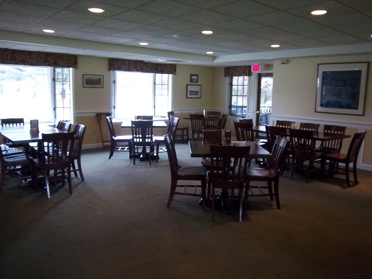 Baxter's Restaurant at Rutland Country Club - ad image
