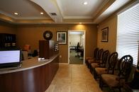 Wesley Chapel Chiropractor Reception Area
