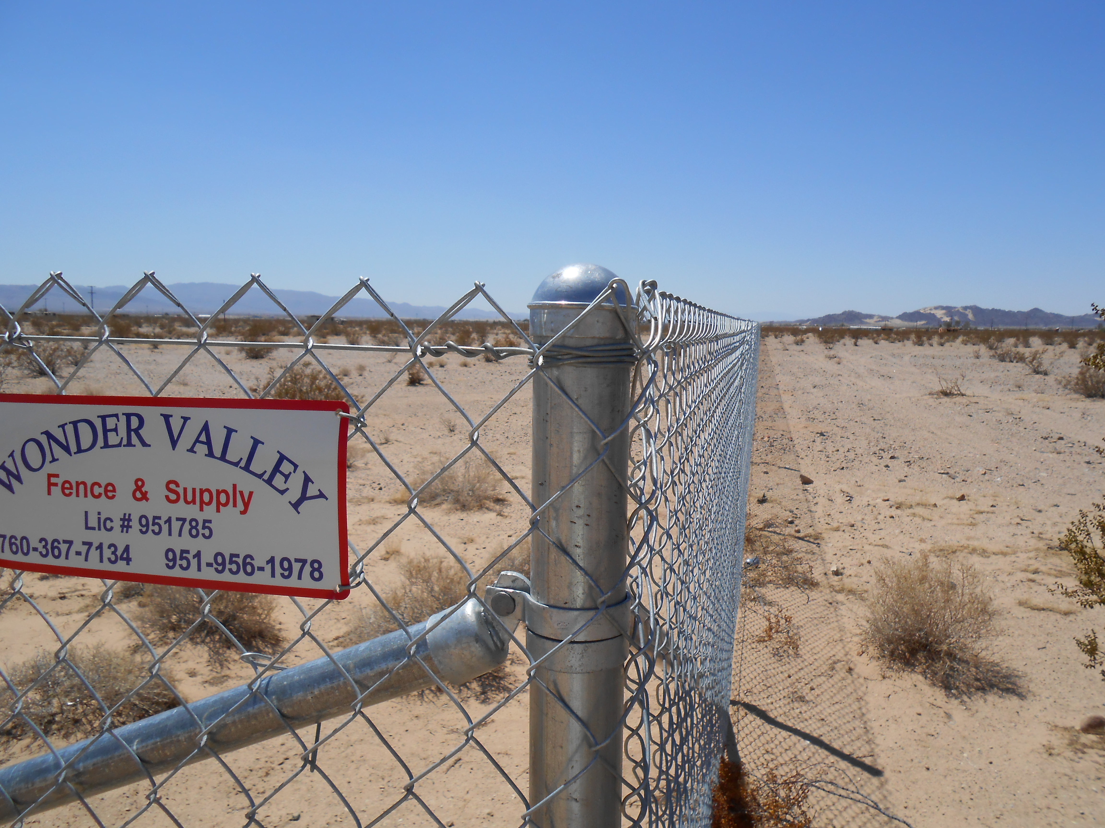 Wonder Valley Fence And Supply image 0