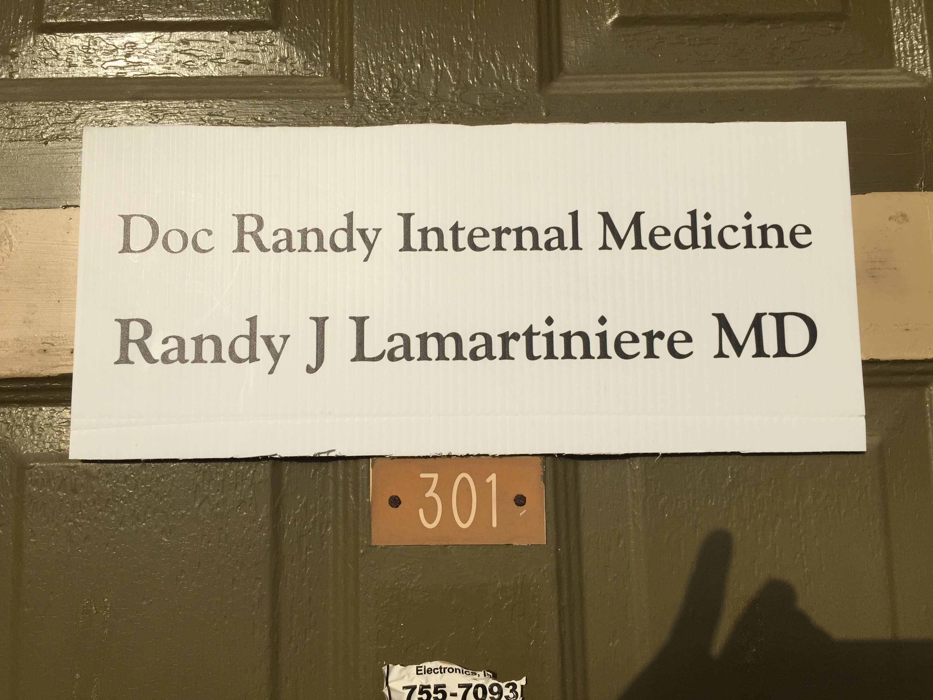 Randy Lamartiniere,Md image 1