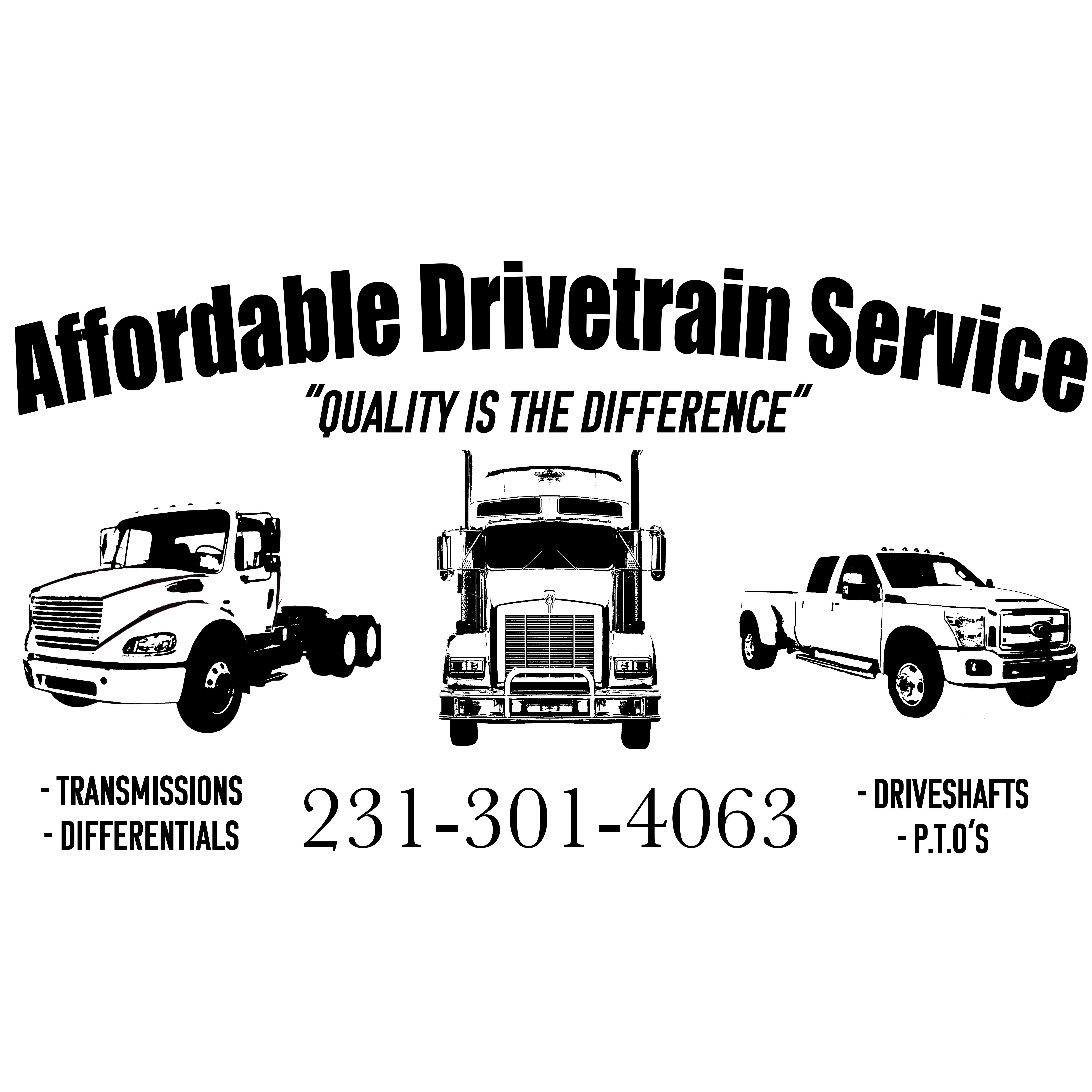 Affordable Drivetrain Service