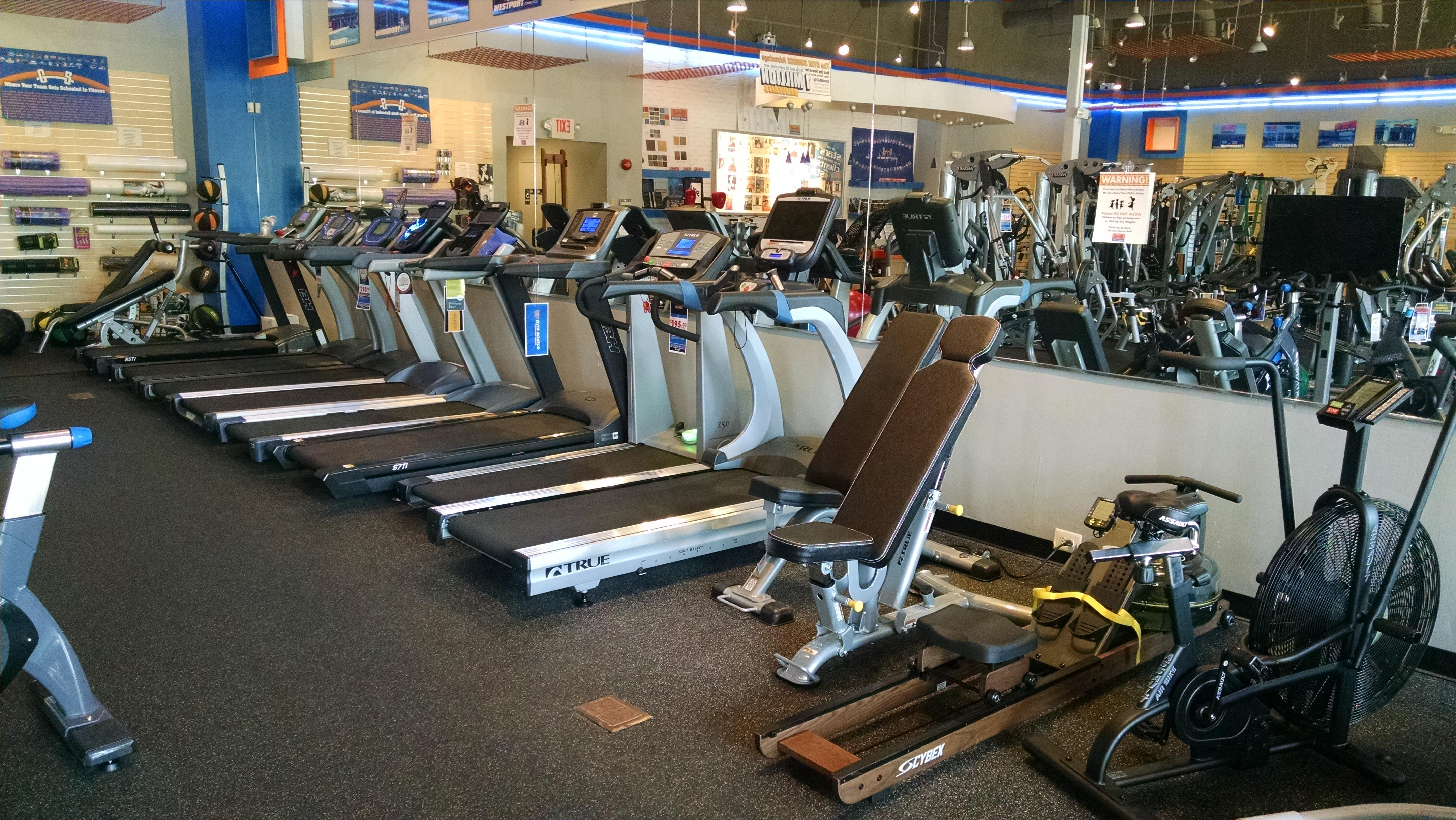 We have many treadmills to choose from! Come test them out and see which treadmill is right for you.