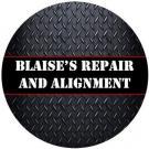 Blaise's Repair and Alignment Logo