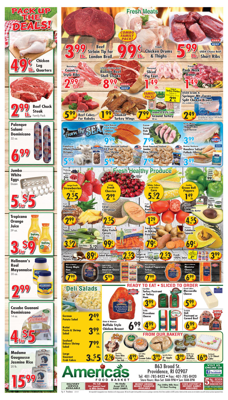 America 39 s food basket coupons providence ri near me 8coupons for American cuisine near me