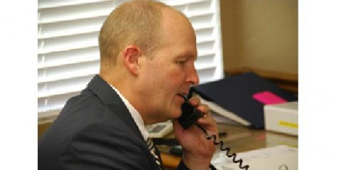 Hamner on Phone