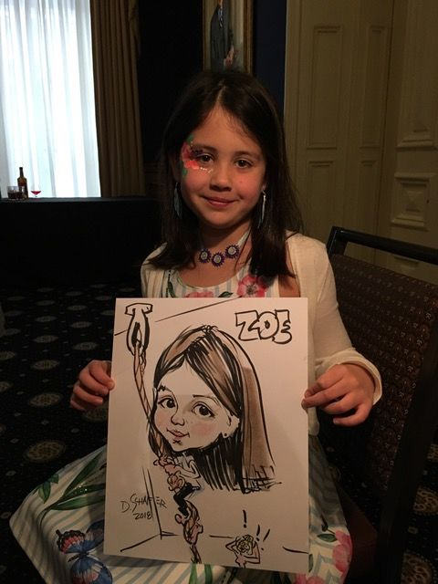 Art Girl Caricatures by Debbie Schafer image 3