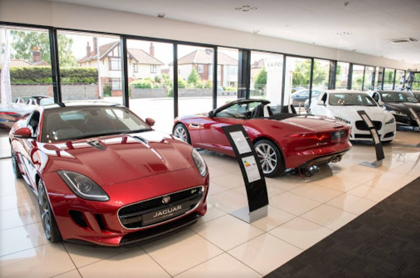 H Fox Jaguar Norwich Inchcape Jaguar, Norwi...