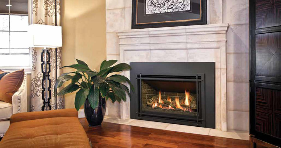 Beautiful Gas Burning Fireplaces