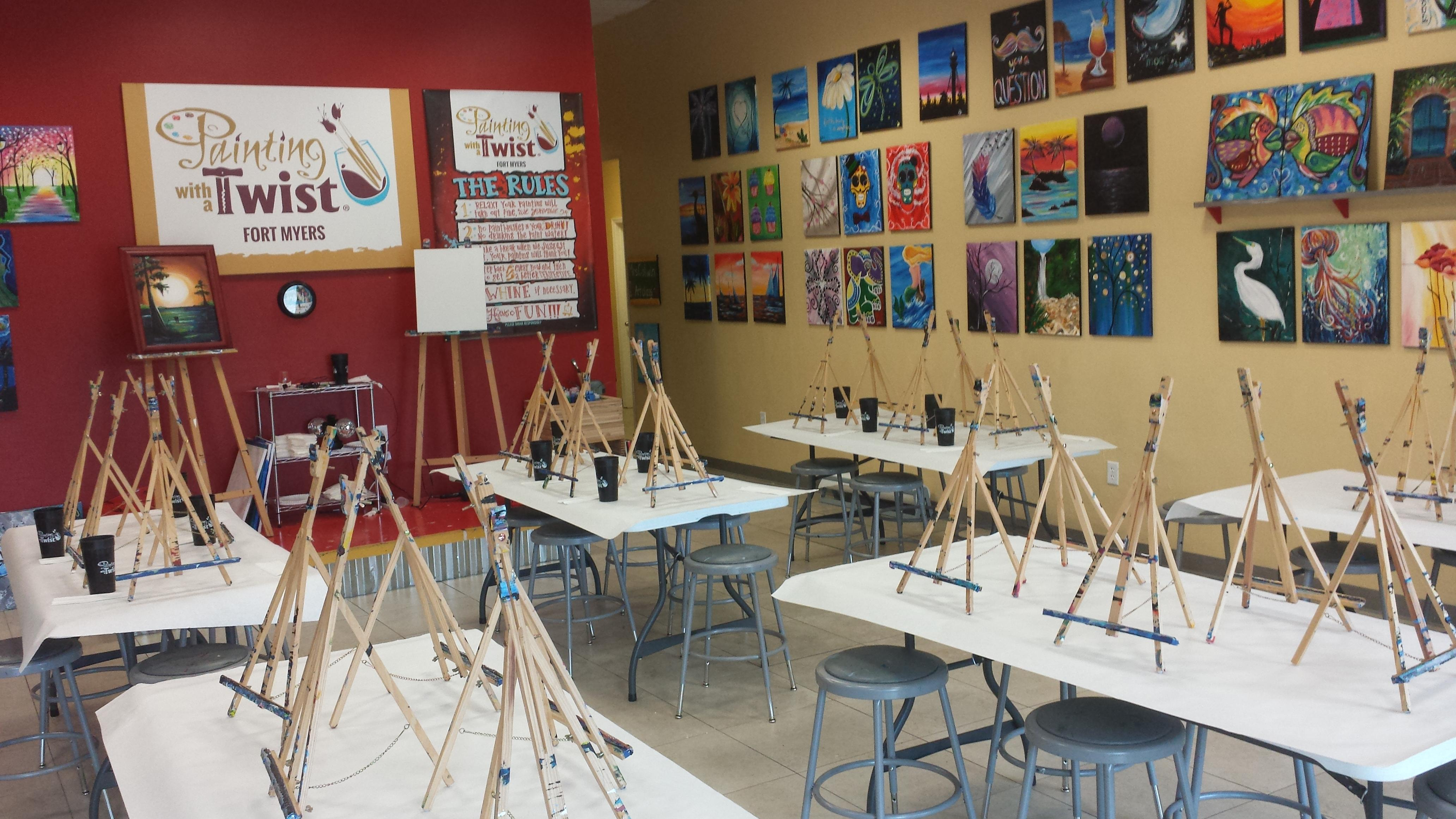 Painting with a twist coupons near me in fort myers 8coupons - Fort myers home decor stores paint ...