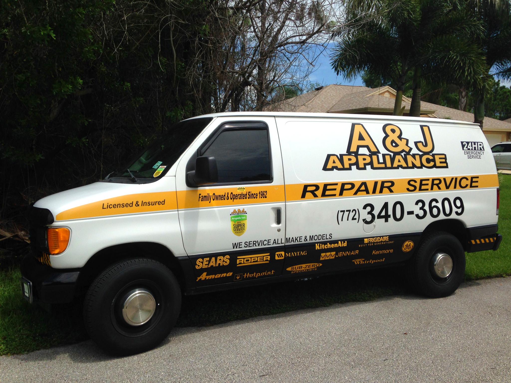 A & J Appliance Repair Service image 0