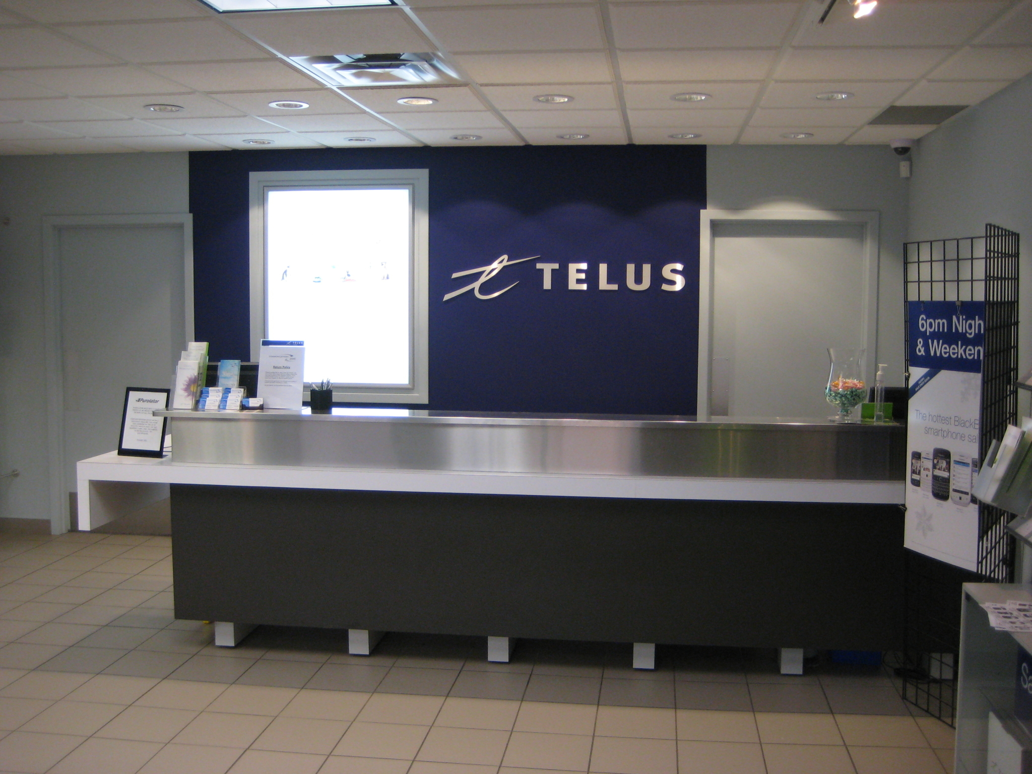 Communications 2000 in Leduc: Our Front Counter