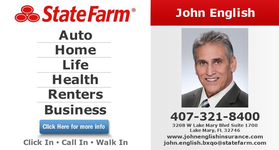 John English - State Farm Insurance Agent
