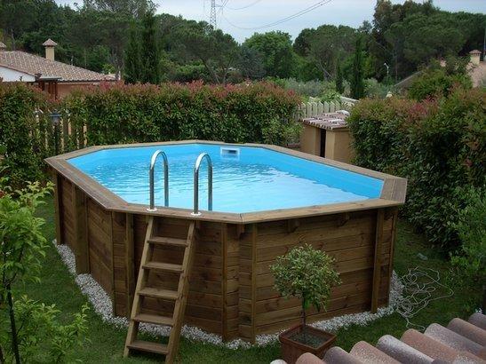 Casa giardino piscina sauna a fiano romano infobel - Realizzazione rivestimento esterno piscina fuori terra ...