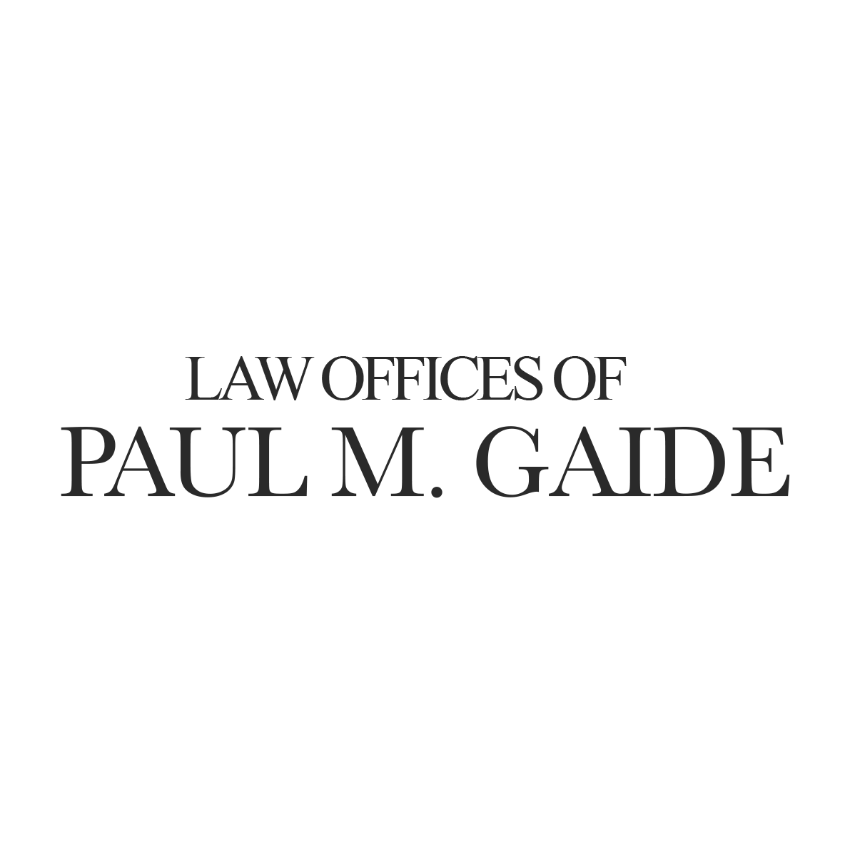 Law Offices of Paul M. Gaide