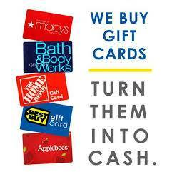 Cash For Gift Cards and Store Credit