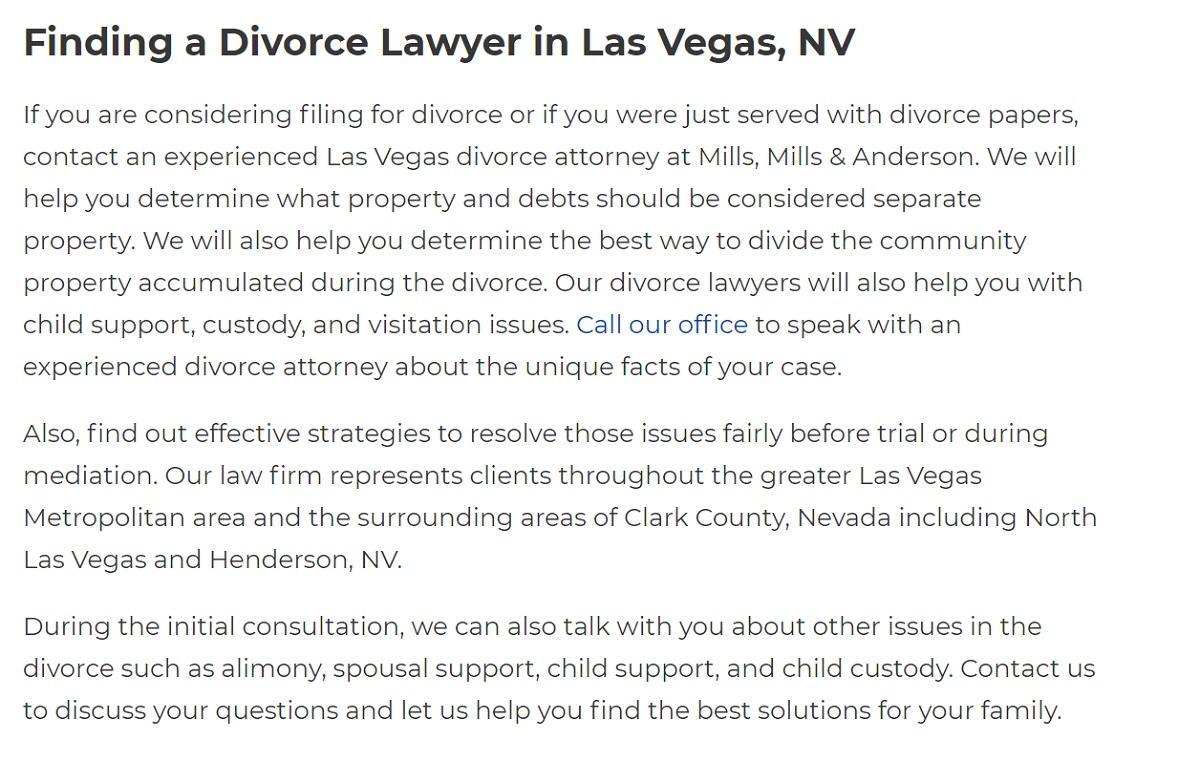 Mills & Anderson in Las Vegas, NV, photo #26