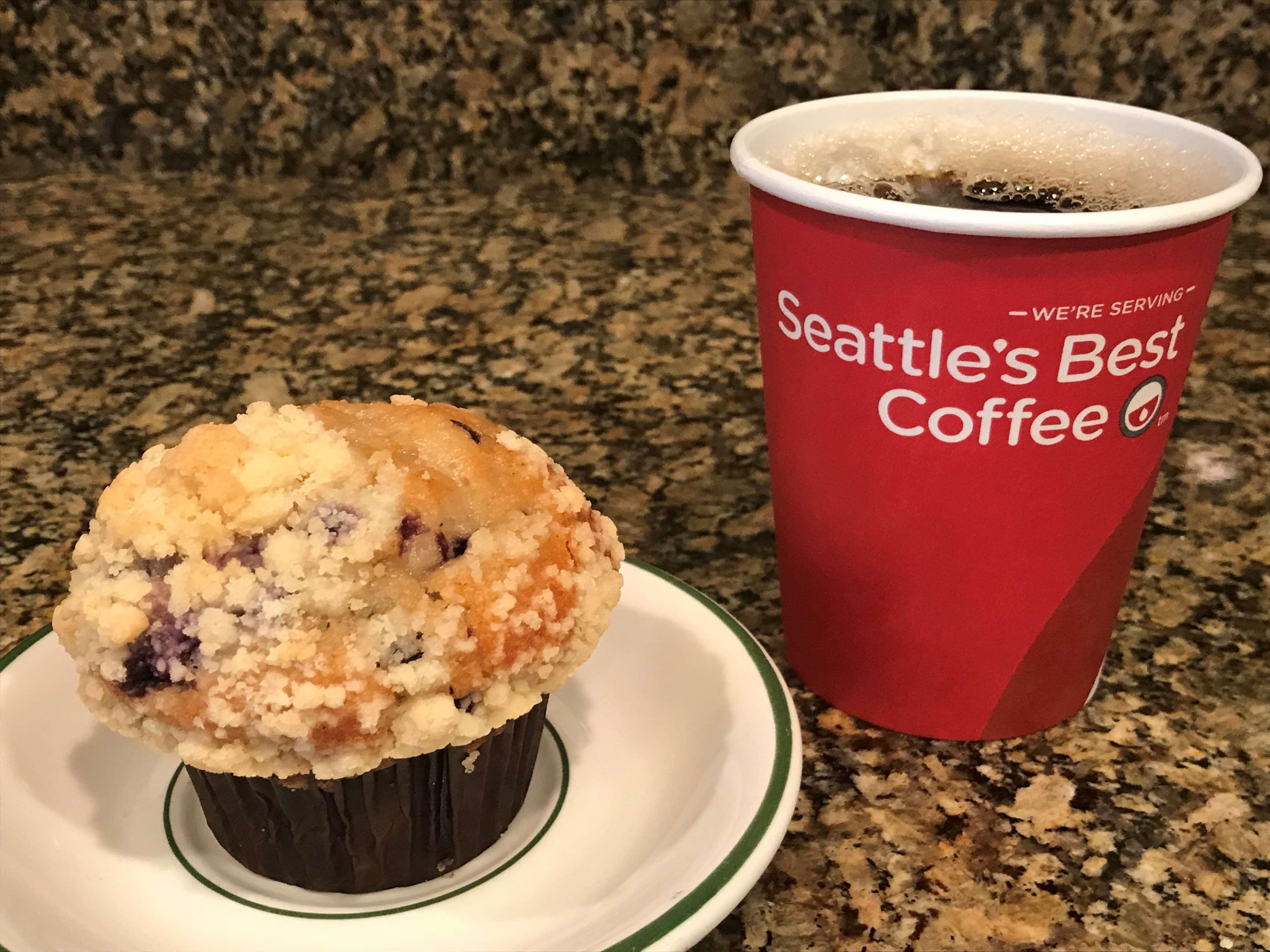 Serving Seattle's Best Coffee.