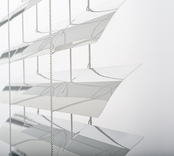 "STORA.ca in Saint-Henri: Store horizontal aluminium 2"""