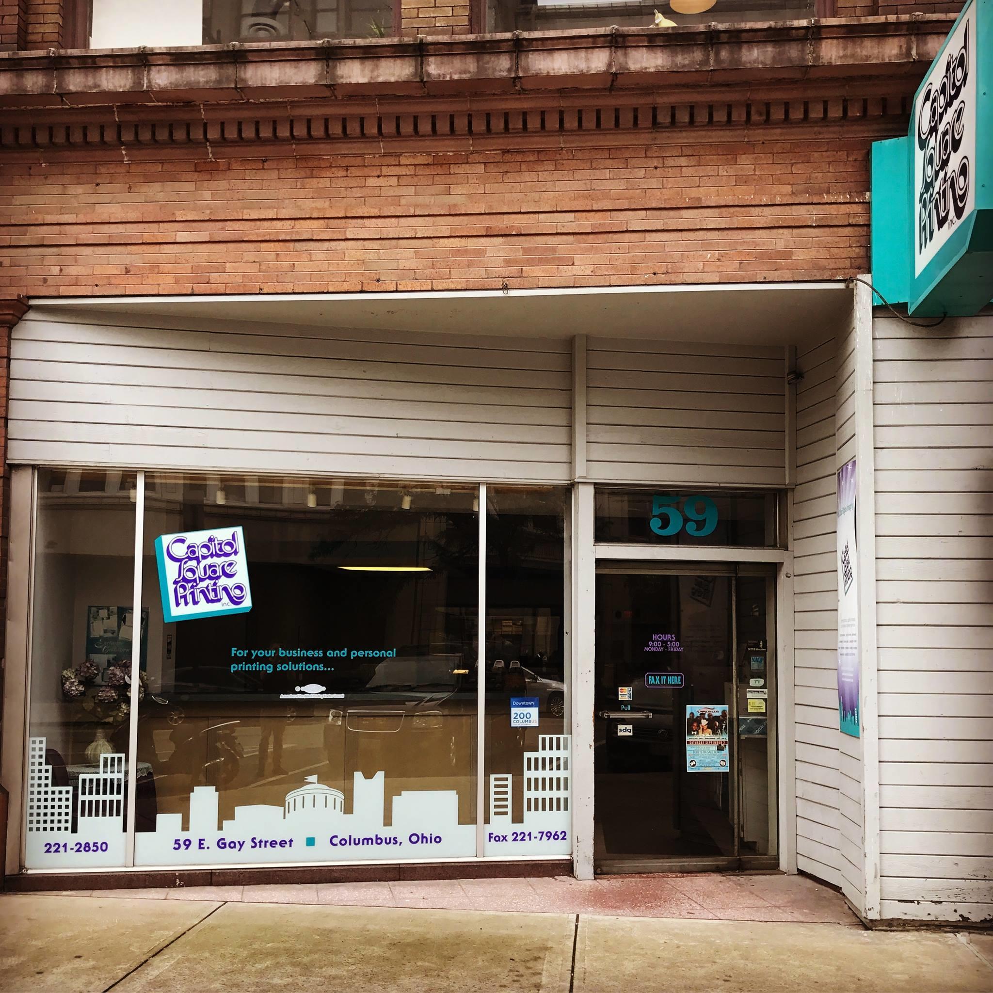 Capitol Square Printing Inc 59 E Gay St Columbus OH mercial