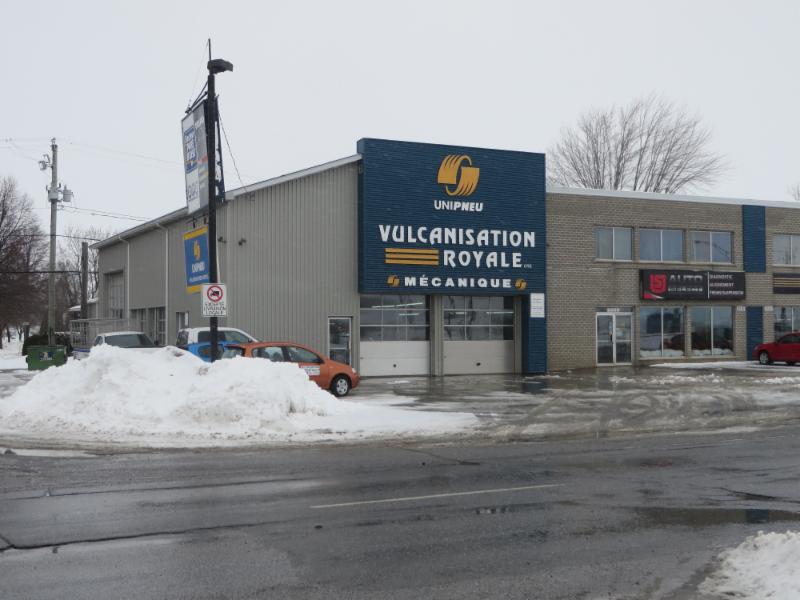 Vulcanisation Royale Ltée à Saint-Hyacinthe