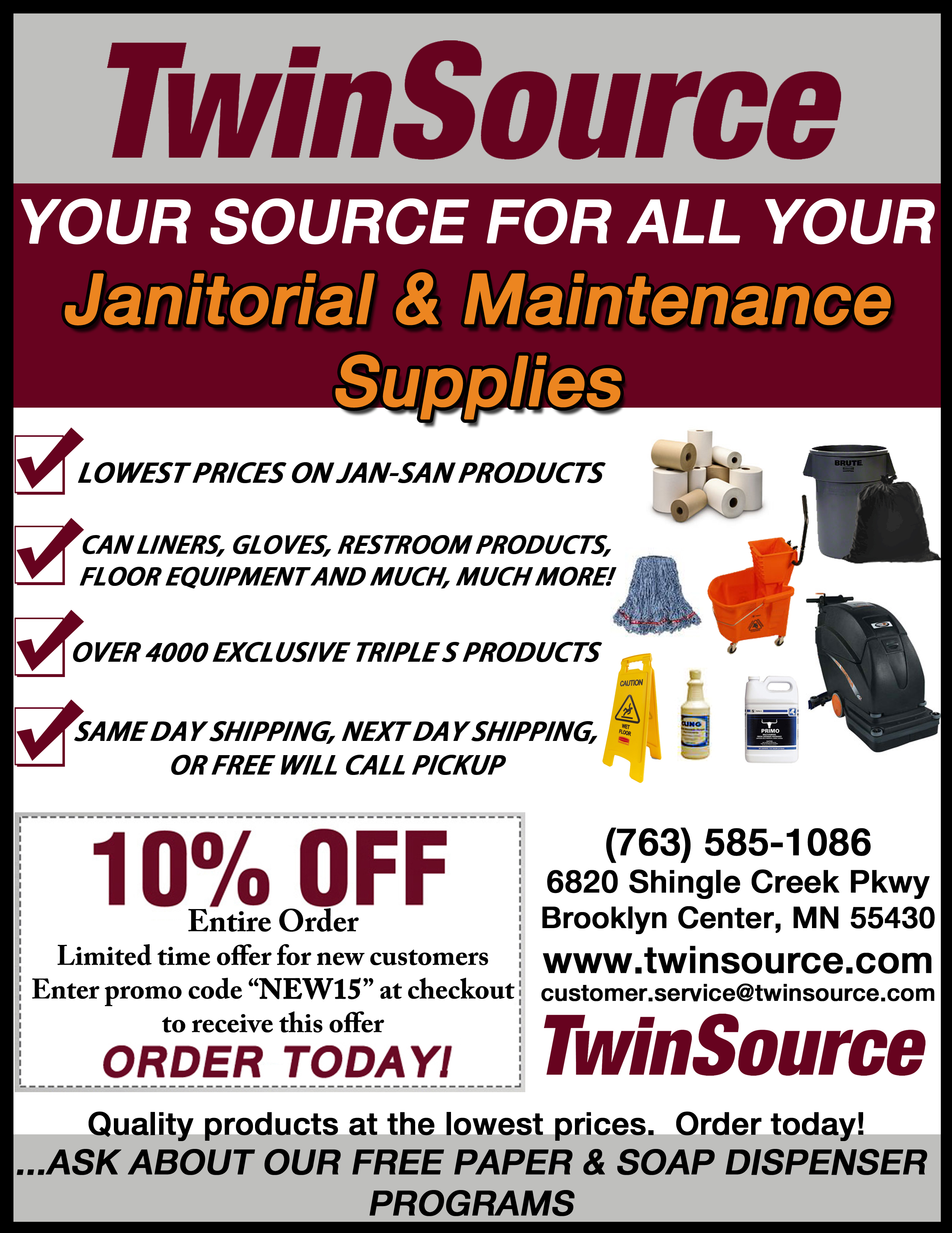 TwinSource Supply image 0