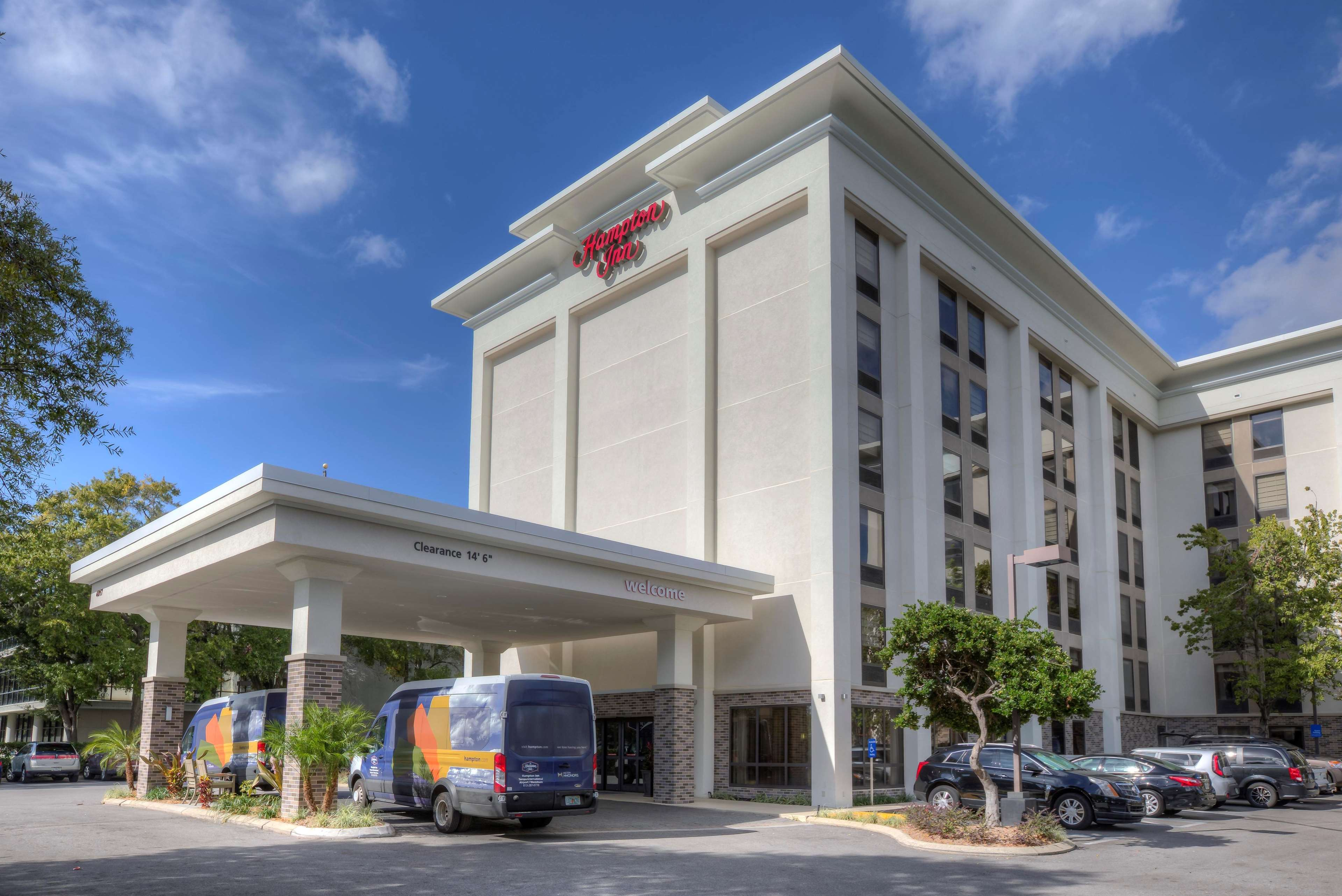 Hampton inn tampa veterans expwy airport north tampa fl business directory for Days inn tampa north of busch gardens