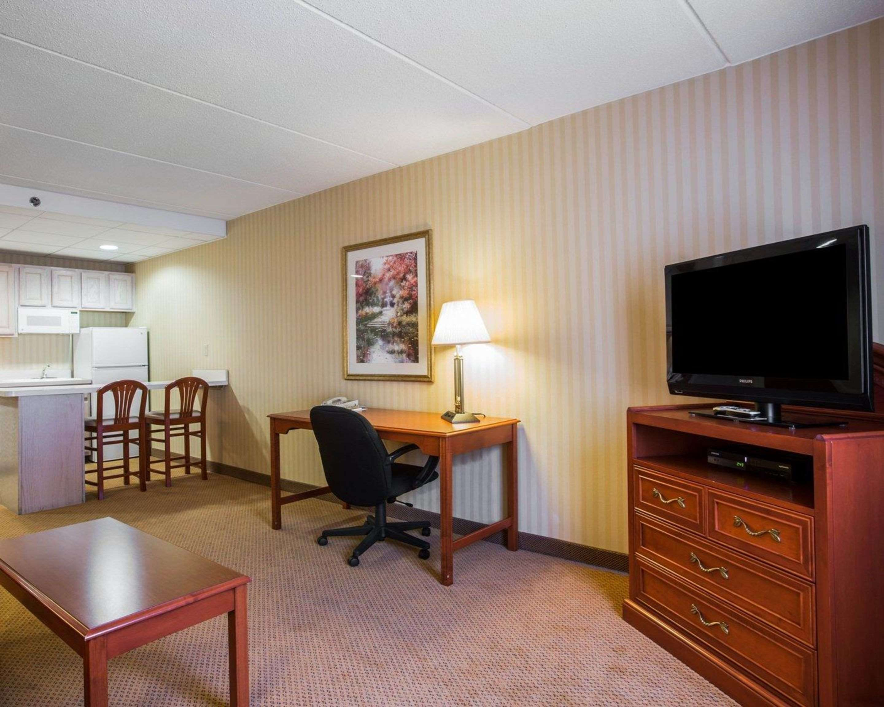 Spacious suite with living room