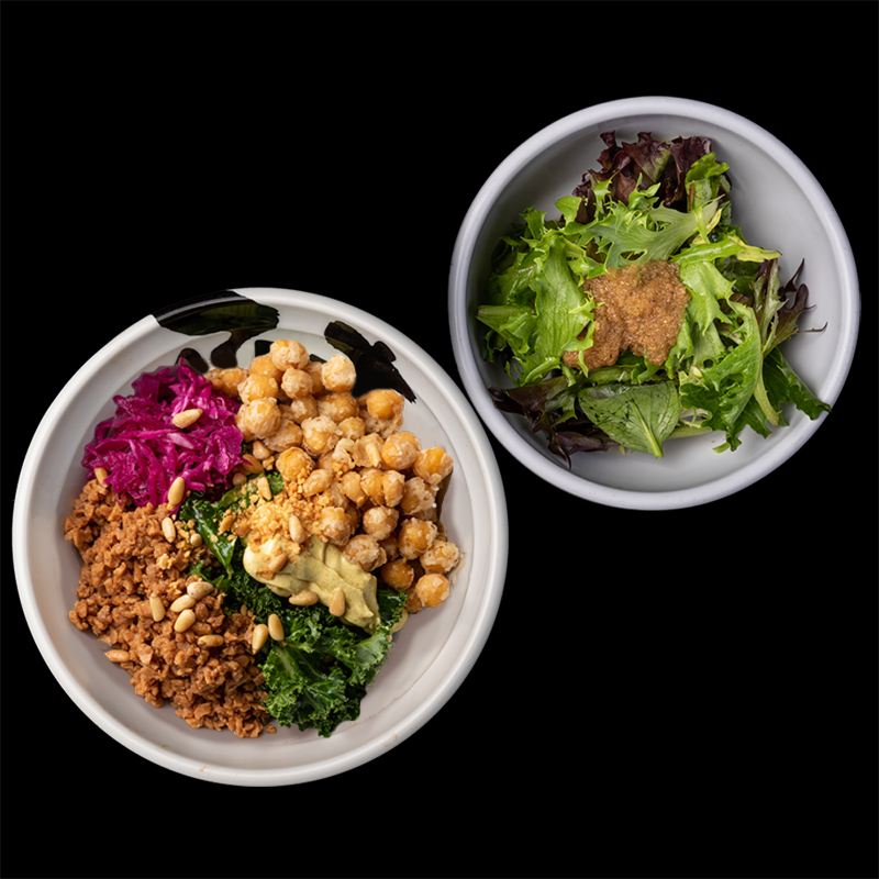 Click to expand image of Vegan Rice Bowl & Salad