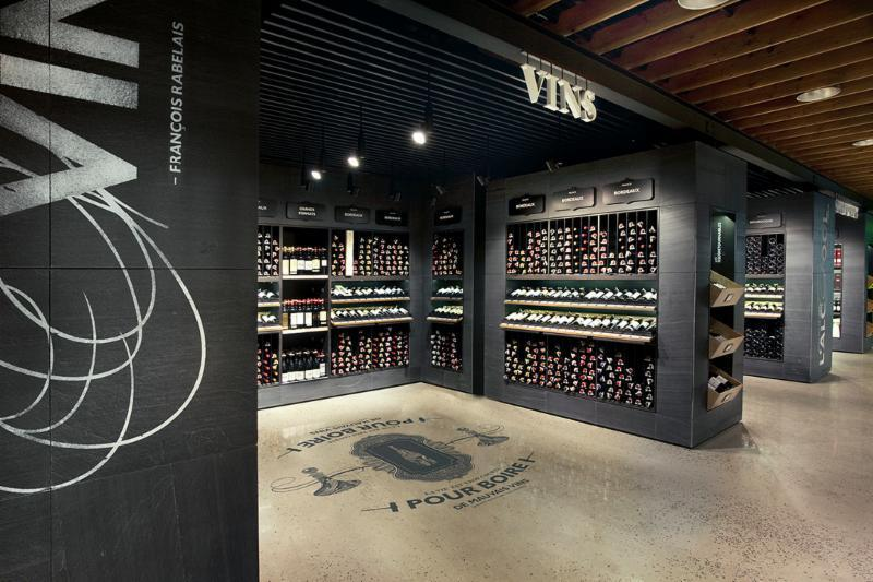 Aedifica à Montréal: Retail Design - SAQ Signature, Québec