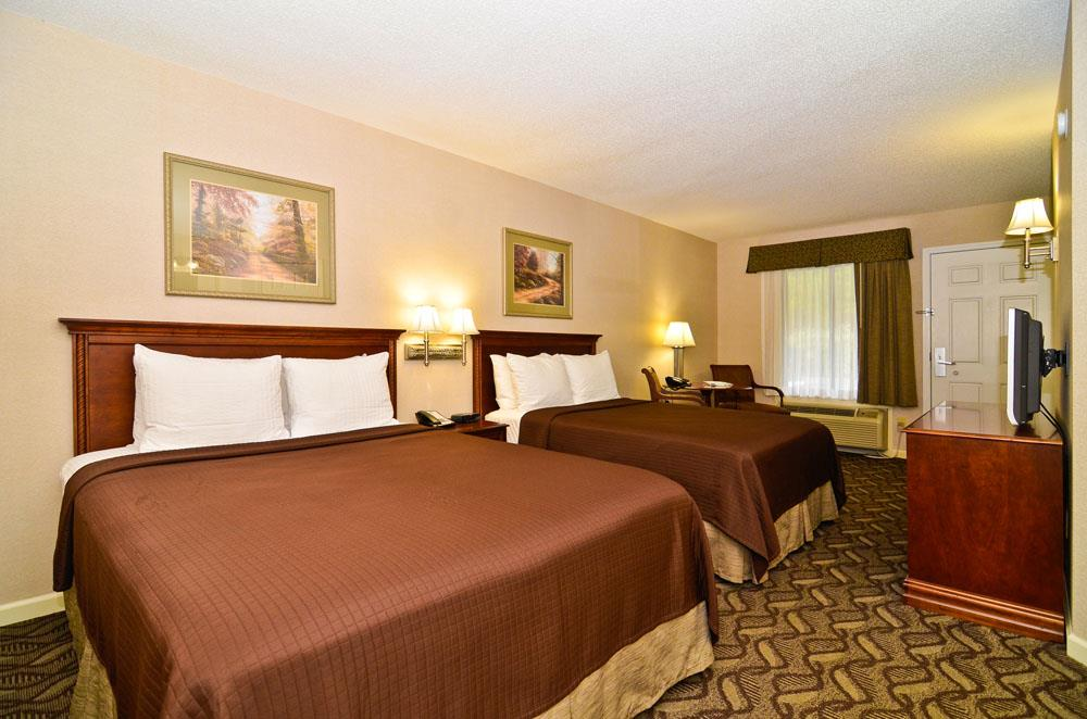 Spacious double rooms with flat screen TV.