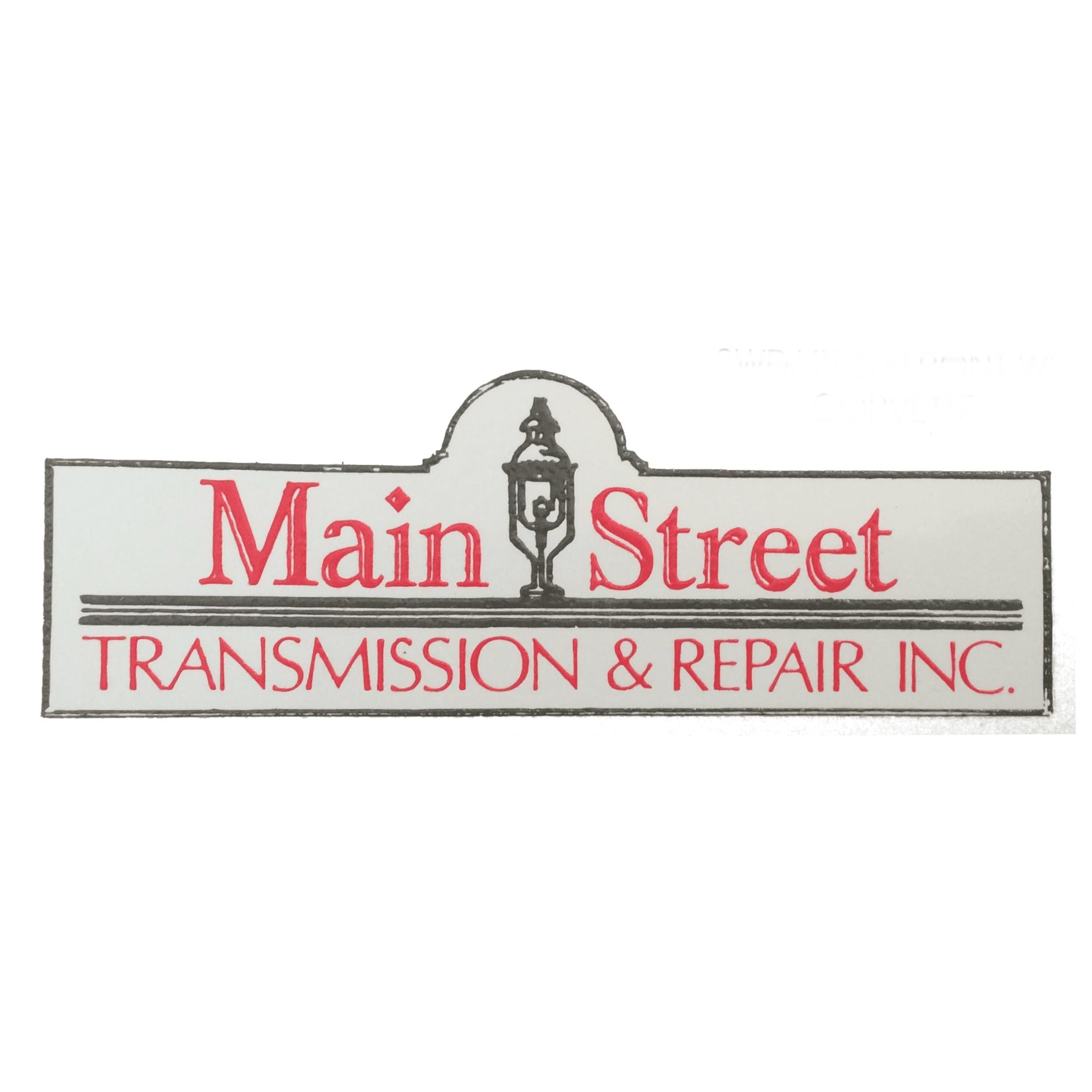 Main Street Transmission & Repair Inc.