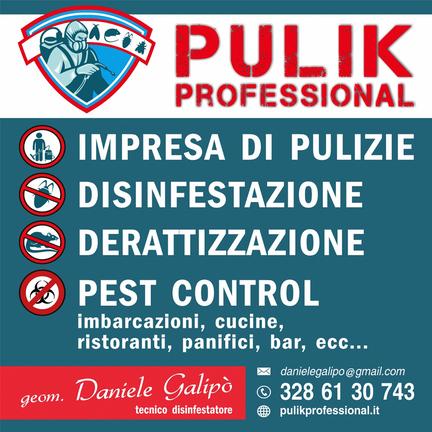 Pulik Professional di Daniele Galipo' Disinfestazioni