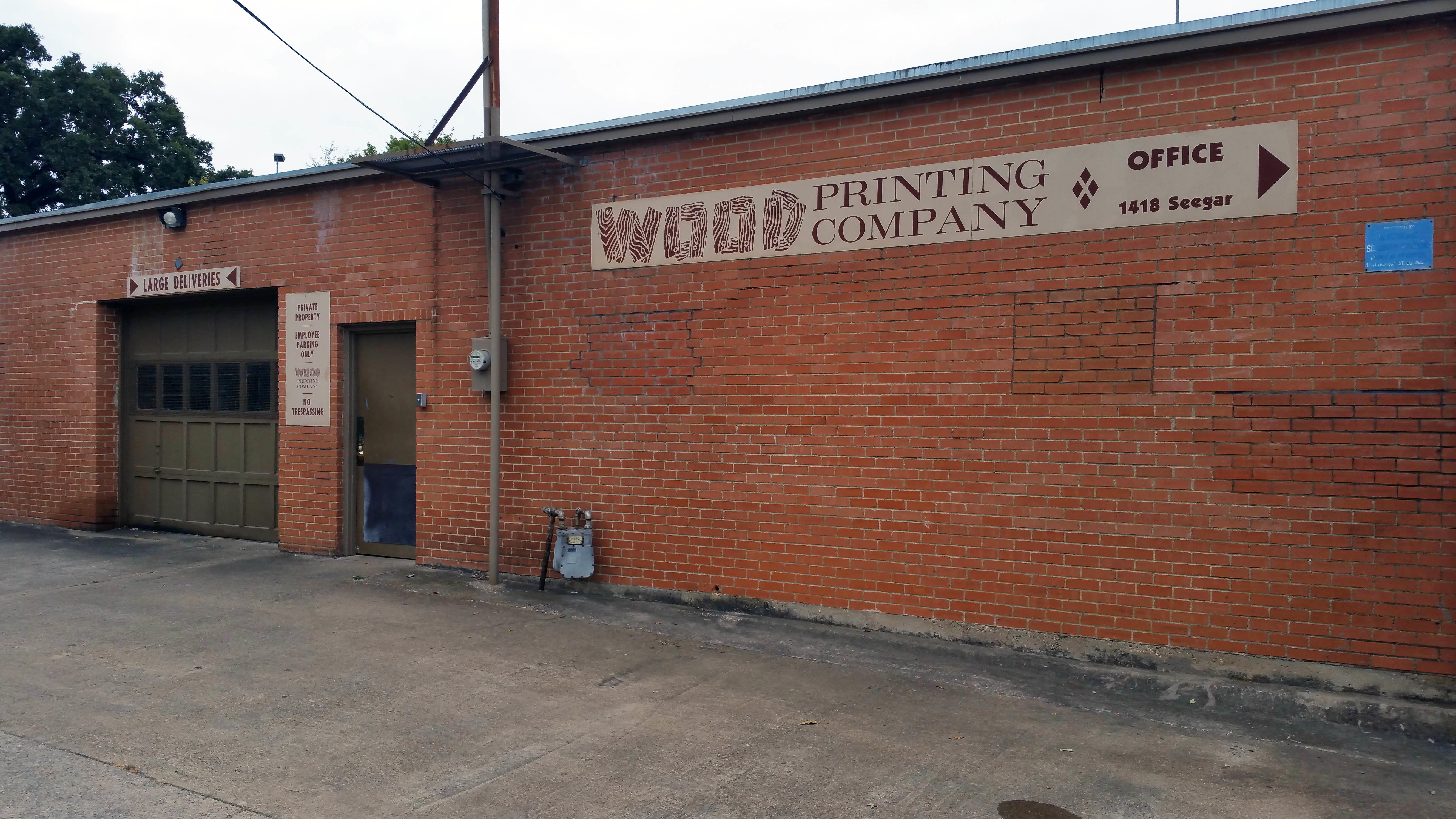 Wood Printing Co