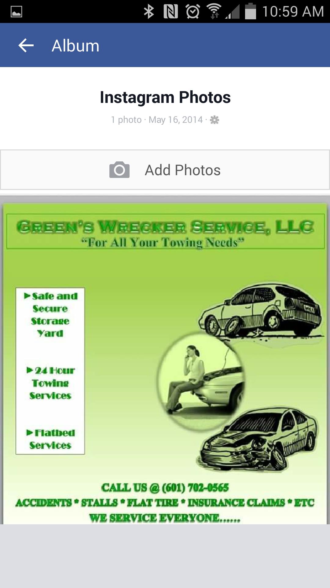 Green's Wrecker Service LLC image 0
