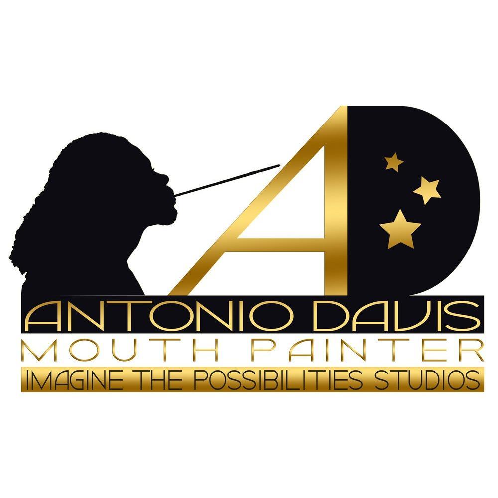 Antonio Davis, Mouth Painter - Imagine the Possibilities Studios - Tone Davis LLC