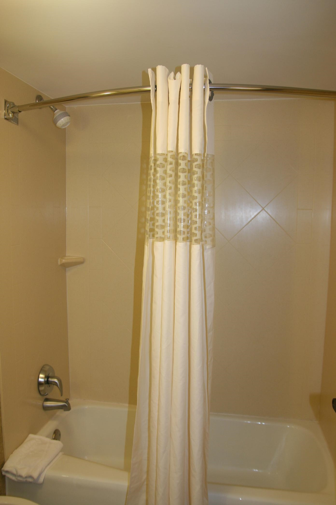 Guest Room Shower and Tub