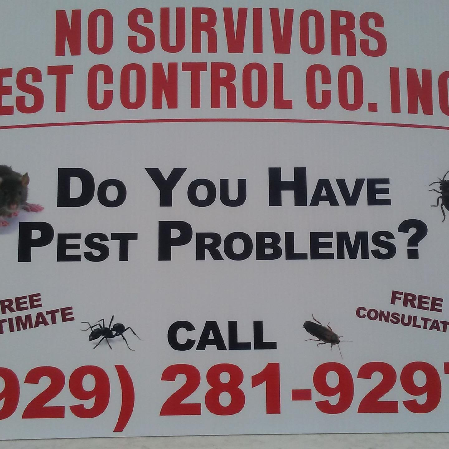 No Survivors Pest Control Co., Inc.
