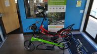 ElliptiGO's, 2 styles available.  The original in 3 models and the new ARC.
