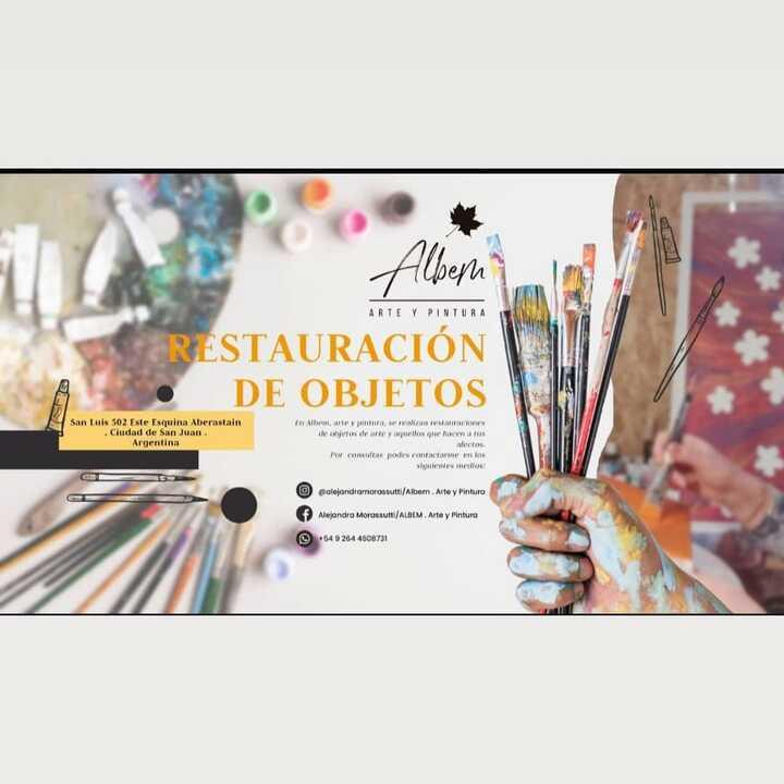 Albem, Arte y Pintura