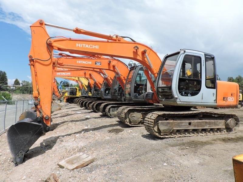 Pacific Rim Equipment Inc in Penticton: Our Hitachi Excavator Line up!